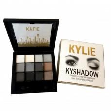 KYLIE Kyshadow набор теней 12 цветов