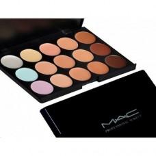 Профессиональная палитра корректоров (консилеров) MAC (Мак), 15 цветов