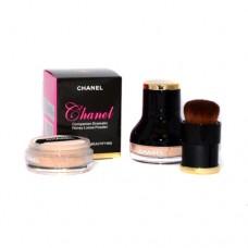Пудра Chanel рассыпчатая с кистью