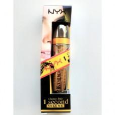 Тушь для ресниц NYX Clump-free 1 Seconde Volume Mascara (уникальная щеточка)